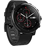 Amazfit Stratos Multisport Smartwatch Huami VO2max, All-Day Heart Rate Activity Tracking, GPS, 5 ATM Water Resistance, Phone-Free Music, US Service Warranty (A1619, Black)