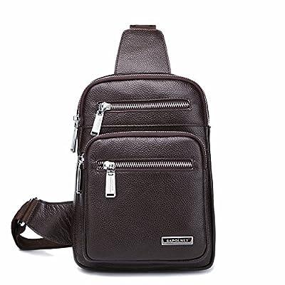 Leather Men's Bags Single Shoulder Bag Messenger Bags Totes Business Briefcase Large Capacity