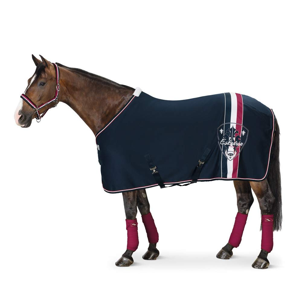 Eskadron Cooler Rug Jersey Stripes Size XL Horse Accessories Ice bluee
