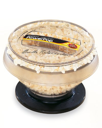 Presto PowerPop Microwave Multi-Popper, Black