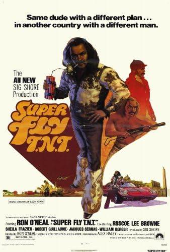 Superfly T N T póster de película 27 x 40 - 69 cm x 102 cm en ...