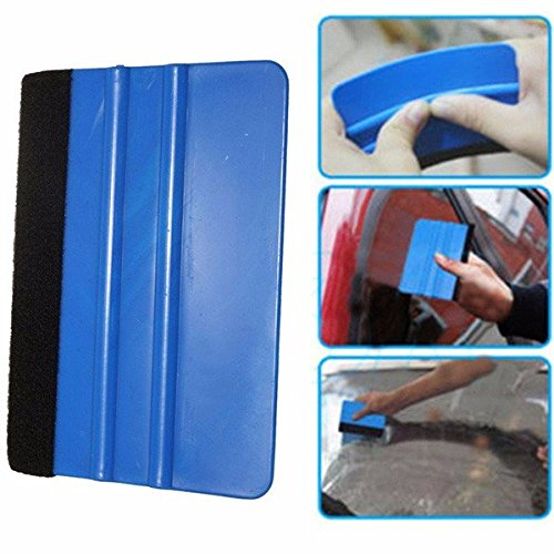 Car Squeegee Decal Wrap Applicator Soft Felt Edge Scraper Tool by Theoriginalstyle Automobiles (Image #5)'