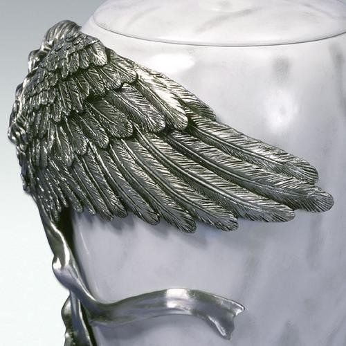 Angelstar Angel's Embrace Pewter Urn, 5-Inch, 8 Cubic Inch (45420) by Angel Star (Image #9)
