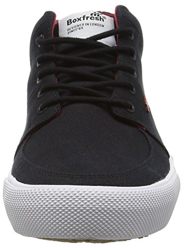 Boxfresh Men's Amhurst Hi-Top Sneakers Black (Black) best store to get cheap online free shipping outlet store clearance shopping online KpnoDD