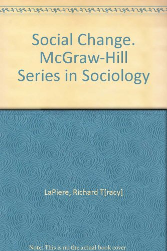 Used, Social Change. McGraw-Hill Series in Sociology for sale  Delivered anywhere in USA