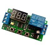 SODIAL(R) Adjustable Pulse Trigger Delay Disconnect Power Cycle Timing Delay Switch Relay Control Module 12v