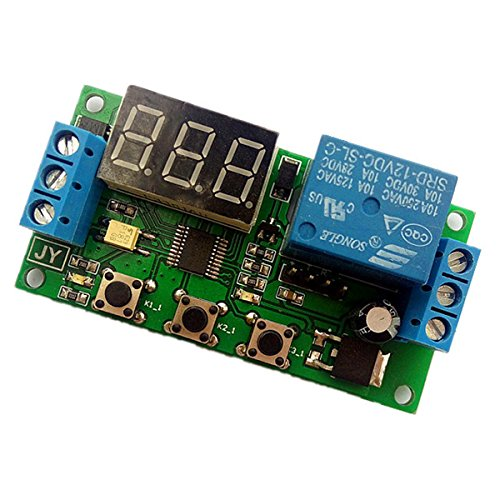 Pulse Trigger Delay Disconnect Power Cycle Timing Delay Switch Relay Control Module 24v ()