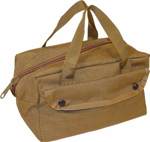Fire Force Mechanics Mini Tool Bag Made in USA (Coyote Brown)