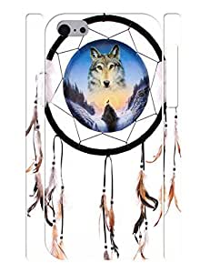 Advanced Antiproof Handmade Dream Catcher Pattern Phone Shell Cover for Iphone 5C Case