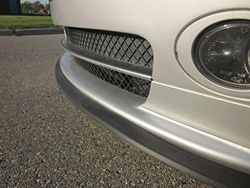 Universal Front Bumper Lip Spoiler Protector Trim Kit by TRUE LINE Automotive