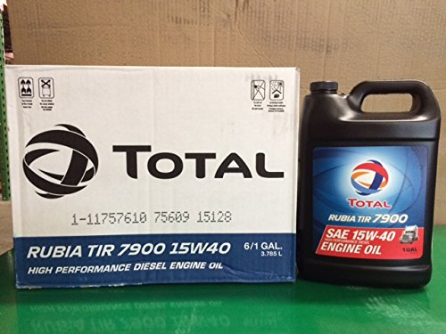 Rubia TIR 7900 15W40 (6-1gal carton)