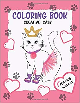 Coloring Book For Kids Creative Cats Creative Cats And