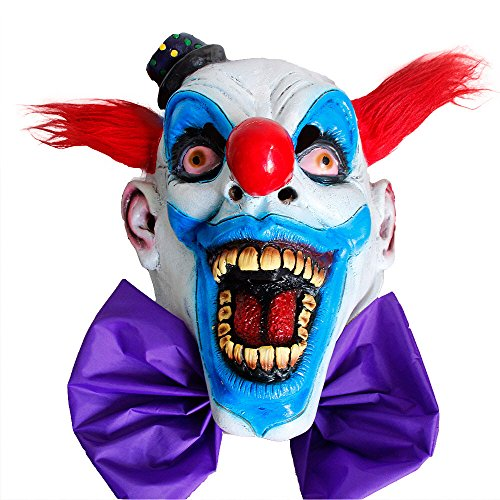 GN Netcom GNG Chompo The Scary Clown mask for Halloween