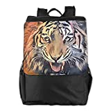 SARA NELL Africa Wild Tiger Men Women Multipurpose Backpack For Travel Outdoor Hiking Camping 25L