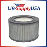 LifeSupplyUSA Replacement HEPA Filter Compatible with Honeywell 21500 21600 Air Purifier Sears Kenmore 833308
