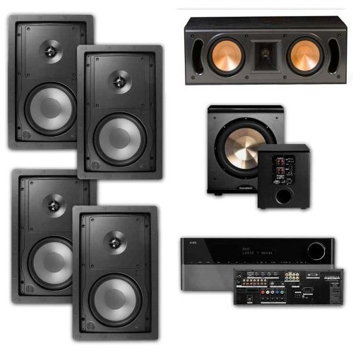 Best Klipsch R-2650-W In Wall #1 5.1 Home Theater System(RC-42II)-FREE PL-200-Harman Kardon 1650 (online)
