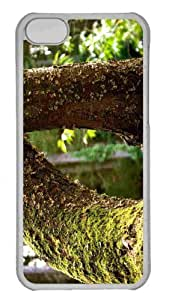Customized iphone 5C PC Transparent Case - Tree 12 Personalized Cover