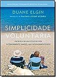 capa de Simplicidade Voluntária