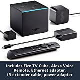 Fire TV Cube | Hands-Free with Alexa and 4K Ultra HD | Streaming Media Player Variant Image