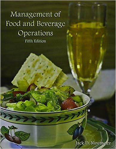 Management Of Food And Beverage Operations: Jack D. Ninemeier