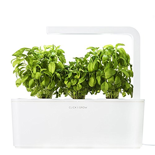 Click & Grow Indoor Smart Fresh Herb Garden Kit (Newer Model Available) (Discontinued by Manufacturer)