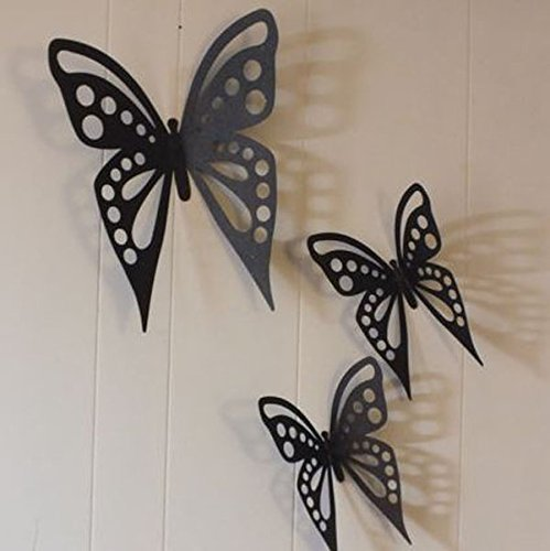 Merveilleux Image Unavailable. Image Not Available For. Color: Butterfly Butterflies  Metal Wall Art ...