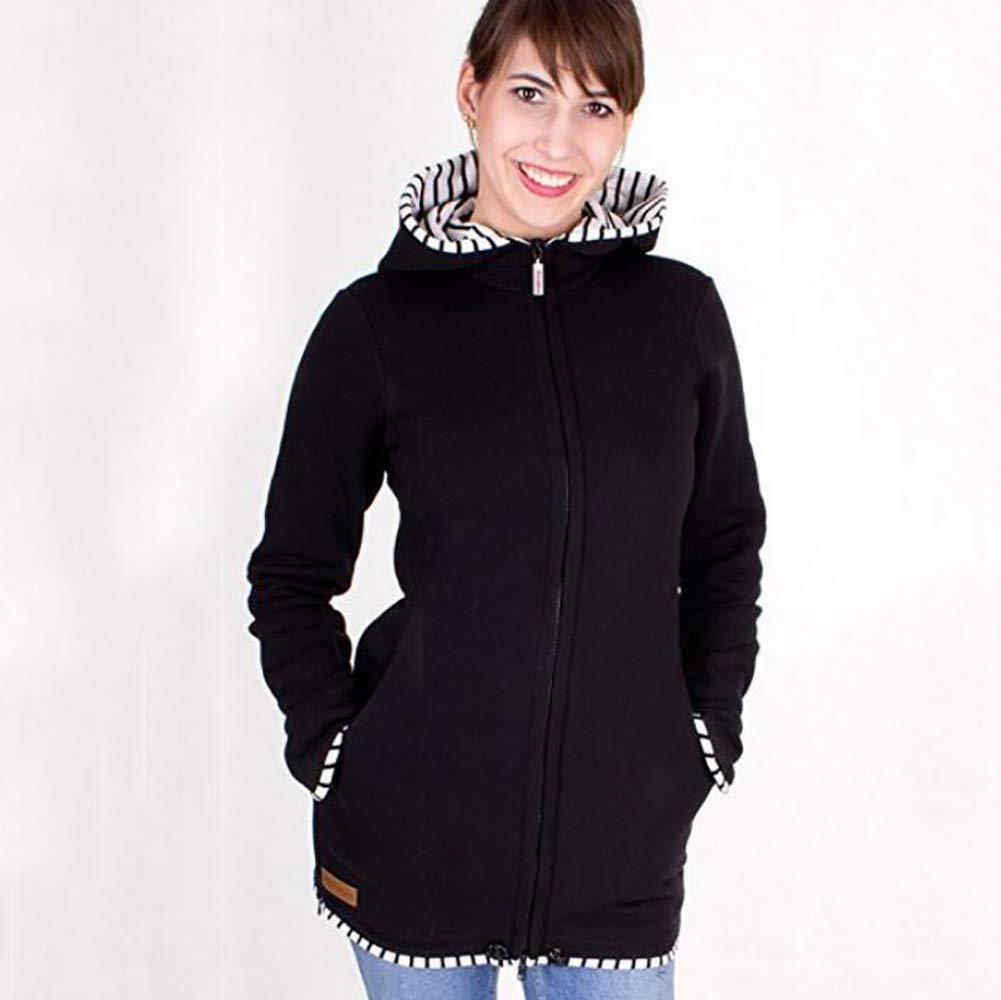 Hiver Maternité Veste Porte Bébé 3 en 1 Multifonctionnel Hoodies Chaud  Kangourou Sweat-Shirt Imperméabiliser,XL  Amazon.fr  Cuisine   Maison 8a0e1ff8e0a