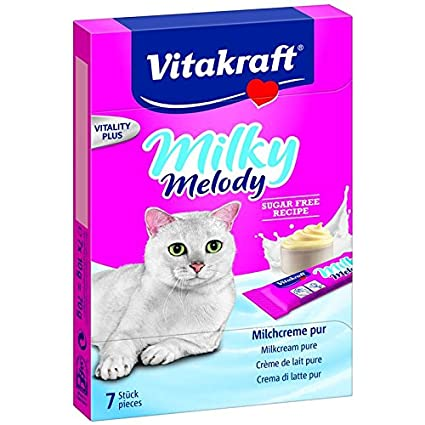 Vitakraft Snacks Para Gatos Milky Melody Puro - 70 G: Amazon ...