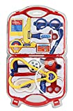 DOCTOR SET Doctor Nurse family oprated Set Medical SuitcaseToy For Kids(HCCD ENTERPRISE) (red)