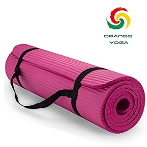 "Yoga Mat, 72"" X 24"" X 2/5"" multiple use Exercise Mat"