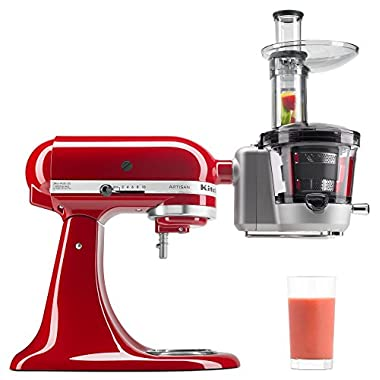 KitchenAid KSM1JA Masticating Juicer and Sauce Attachment