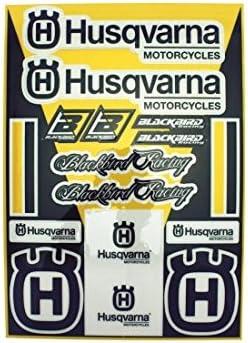 Kit Sticker Universel Blackbird Standard Husqvarna 2015 78102016