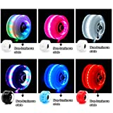 VAKA Luminous Light Up Quad Roller Skate Wheels