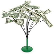 Kovot Tabletop Money Tree - Bendable Branches To Hold Money Or Gift Cards