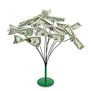 KOVOT Tabletop Money Tree   Bendable Branches To Hold Money Or Gift Cards