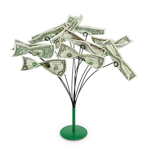 - Kovot Tabletop Money Tree - Bendable Branches To Hold Money Or Gift Cards