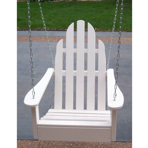 Adirondack Chair Swing (Berry Blue) (37''H x 28''W x 28''D) (Adirondack Berry Chair Blue)