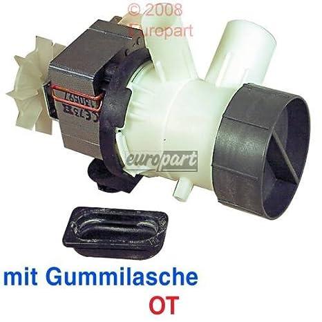 Bomba de desagüe spalt Motor OT 90 W Izquierda unidad lavadora AEG ...