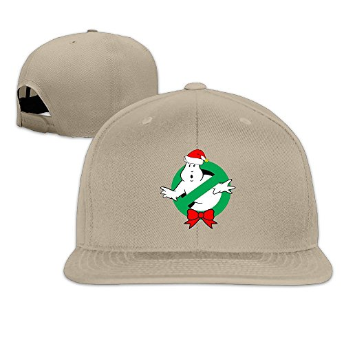 Price comparison product image HYRONE For Men Women Hip Hop Baseball-Caps Meshback Christmas Ghostbusters Hat Caps Natural