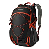 Cheap Mountaintop 40 Liter Unisex Hiking/Camping Backpack (Black1)