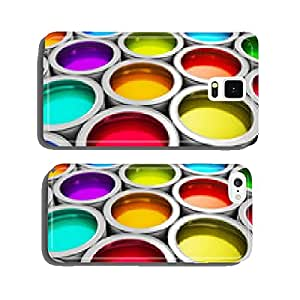 Color paint cans cell phone cover case iPhone6 Plus