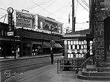 1921 Darby PA Victorola PILLSBURY Street Scene Historical Photograph- Reprint 8x10