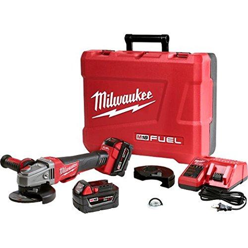 Milwaukee 2783-22 M18 Fuel 4-1/2 / 5 Braking Grinder - Kit (Tamaño: 4-1/2)