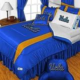 UCLA Bruins Twin Comforter and Pillowcase Set College Team Logo Bedding