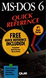 MS-DOS 6 Quick Reference, Neuman, Sally, 1565291379