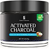 Natural Activated Coconut Charcoal Teeth Whitening Powder, Teeth Whitening Charcoal, Activated Charcoal Teeth Whitening Kit, Teeth Whitener, Tooth Powder For Healthy Cleaner Whiter Teeth