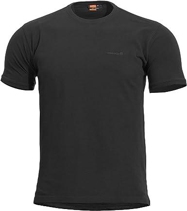 PENTAGON Hombre Levantes Crew Neck Camiseta Negro: Amazon.es: Ropa y accesorios
