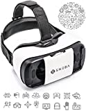 SNEBA-3d-VR-Glasses-Premium-Virtual-Reality-Headset-Volume-Control-Dial-Adjustable-Lenses-Strap-For-iPhone7-Samsung-Smartphone-45-57-VR-Googles-For-Movies-Games