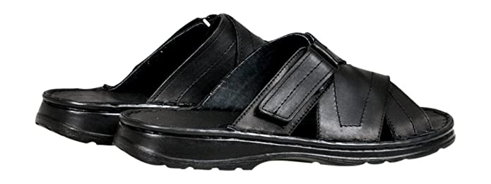 426e6c40290f Lukpol Comfortable Mens Natural Buffalo Leather Orthopedic Sandals Shoes  Model-865  Amazon.co.uk  Shoes   Bags