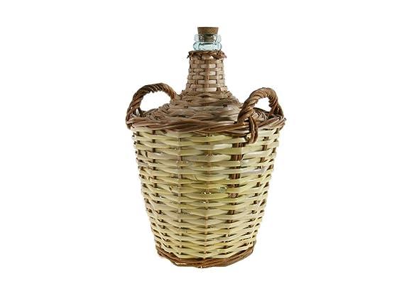 CAL FUSTER - Garrafa de caña y Vidrio 8 litros. Medidas totales: 43xØ29 cm.: Amazon.es: Hogar